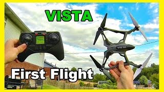 getlinkyoutube.com-Dromida Vista UAV First Flight Impressions - TheRcSaylors