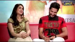 getlinkyoutube.com-Jassi Gill & Sagarika Ghatge talking about their latest film 'Dildariyaan'   Interview   PTC Punjabi