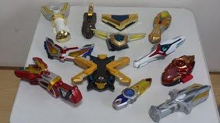 getlinkyoutube.com-ウルトラマンX記念 歴代平成ウルトラマンの変身アイテムを振り返ってみた Ultraman Transformation Toys