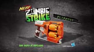 getlinkyoutube.com-NERF Australia | Zombiestrike FlipFury 15 Second Commercial