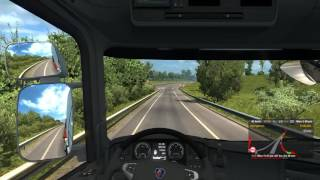 Vive La France! DLC for Euro Truck Simulator 2 - Gameplay - Civaux to Marseille
