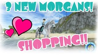 getlinkyoutube.com-3 NEW MORGANS and SHOPPING Star Stable