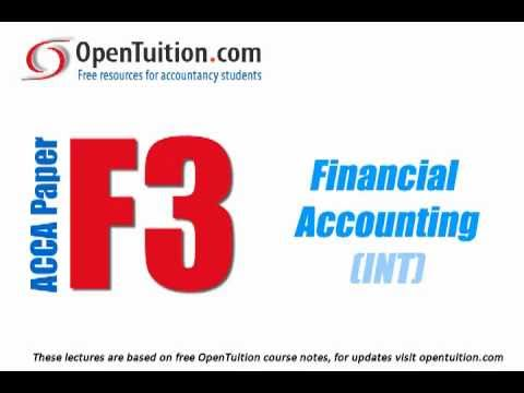 ACCA F3 Accounting for Limited Companies