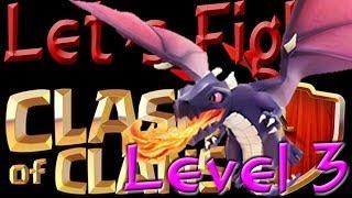 getlinkyoutube.com-Clash of Clans ... - Drachen lvl 3