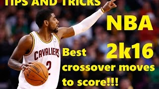 getlinkyoutube.com-NBA 2k16 :: Tips and Tricks :: Best Crossovers to Score and Embarrass Your Defender