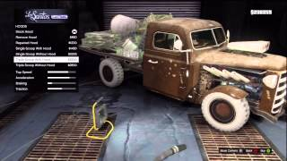 getlinkyoutube.com-GTA V Car Customization Off Road Truck 'Rat-Loader Muscle' (HotRod)
