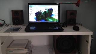 getlinkyoutube.com-Trust vigor speaker system 2.1 bass test