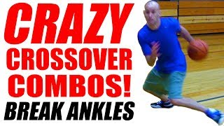 getlinkyoutube.com-Crazy Basketball Crossovers - REVERSE UTEP Combos! How To Break Ankles | Snake