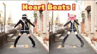 getlinkyoutube.com-Dance with VOCALOID [Heart Beats][あぷりこっと* & 重音テト][MMD 踊ってみた]
