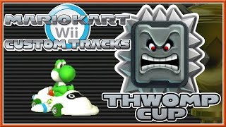 getlinkyoutube.com-Mario Kart Wii Custom Tracks - Thwomp Cup