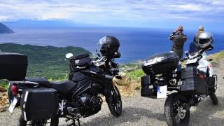 getlinkyoutube.com-Tour de Corse à Moto ( Triumph 1200 Explorer et KTM 990 Adventure )