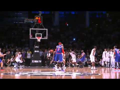 Jason Kidd's Game Winning 3-Point Shot!!! | Knicks vs. Nets | 12/11/12