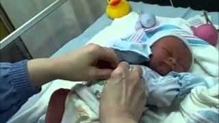 getlinkyoutube.com-Newborn Baby Jack ~ Birds & Bees Nursery.wmv