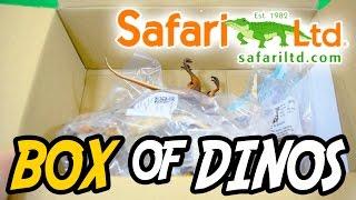 getlinkyoutube.com-Safari Ltd® April 2016 Unboxing | Carcharodontosaurus Iguanodon Masiakasaurus Shunosaurus