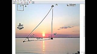 getlinkyoutube.com-FLAT EARTH PLANE NAVIGATION AT SEA by warship navigator
