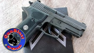 getlinkyoutube.com-Shooting the NEW Legion Series P229 9mm Pistol from Sig-Sauer - Gunblast.com