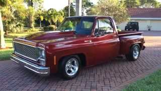 getlinkyoutube.com-SOLD - 1976 Chevrolet C10 Stepside Pickup Truck for sale by Auto Haus of Naples AutoHausFL.com