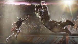 Thor vs Hulk HD fight scene Thor Ragnarok in  Hindi