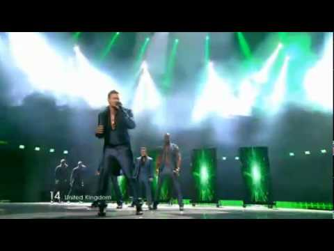 BLUE - I CAN - EUROVISION 2011 FINAL UNITED KINGDOM HIGH QUALITY HD