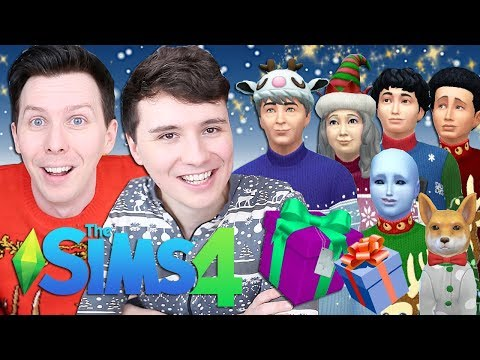 DIL'S FAMILY WINTERFEST - Dan and Phil Play: Sims 4 63