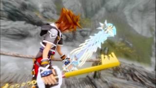 getlinkyoutube.com-Skyrim Kingdom Hearts Sora, Riku, Kairi MOD