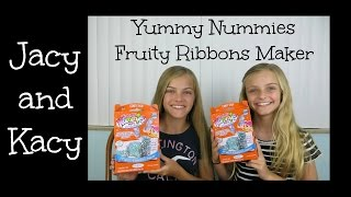 Yummy Nummies ~ Fruity Ribbons Maker Kit ~ Jacy and Kacy