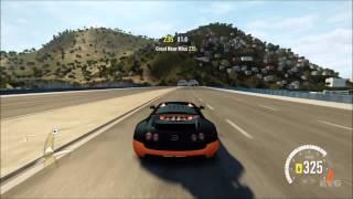 getlinkyoutube.com-Forza Horizon 2 - Bugatti Veyron Super Sport | Top Speed 436 KMH [HD]