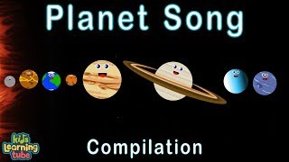 Planet Song for Kids/Solar System Songs/40 Minute Compilation