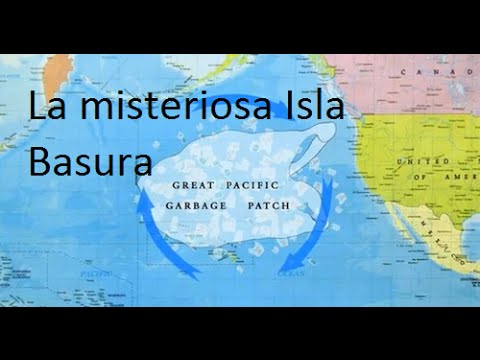 El séptimo continente, la isla basura