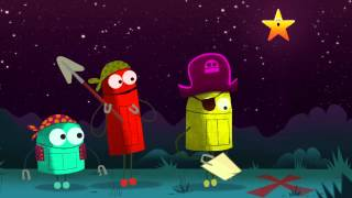 """getlinkyoutube.com-Outer Space: """"I'm A Star,"""" The Stars Song by StoryBots"""
