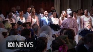 Royal Wedding: The Kingdom Choir sing Ben E King's Stand By Me width=