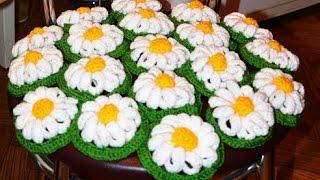 🌼 Как связать РОМАШКУ крючком | How to crochet camomile 🌼