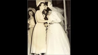 20 Rare Vintage Snapshots of Lesbian Weddings From the Past