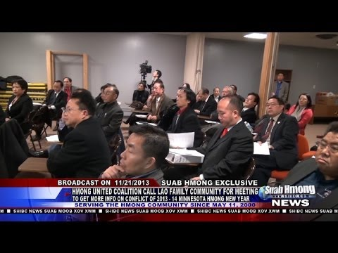Suab Hmong News: Latest Updated on the Conflict of the Minnesota Hmong New Year as 11/21/2013