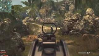 getlinkyoutube.com-MW3 Multiplayer Gameplay: UMP Kill Confirmed on Village (Modern Warfare 3)