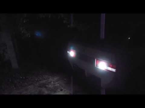 Самодельные LED лампы для фонарей заднего хода