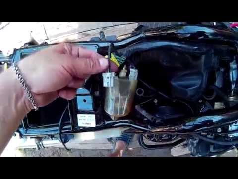 Замена датчика скорости Honda CB400 Vtec 3