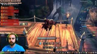 getlinkyoutube.com-Bajheera - First 6-Man Dungeon: Blackram Narrows - Blade & Soul [NA Alpha]