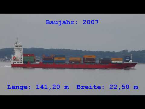 Click to view video LINDA - IMO 9354325 - Germany Kieler Förde