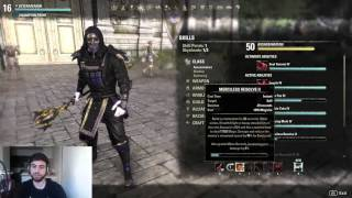 getlinkyoutube.com-(NEW) PvP Build - Magicka Nightblade - ESO