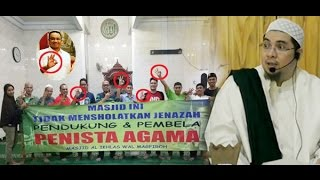 Waspada! Dajjal Ngaku Bela Agama, Gentayangan di Masjid Pasang Spanduk Tolak Jenazah