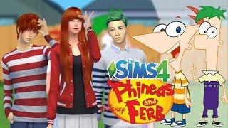 getlinkyoutube.com-The Sims 4 Phineas and Ferb #1 ฟีเนียสกับเฟิร์บคู่หูตัวป่วน