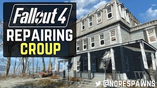 Fallout 4 - How to Repair Croup Manor