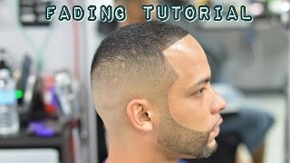 getlinkyoutube.com-Mens Haircut fade! Barber Clipper Cutting Techniques with Hair Color