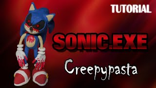 getlinkyoutube.com-Tutorial Sonic.exe en Plastilina | Creepypasta | Sonic.exe Clay Tutorial