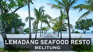 Lemadang Seafood Belitung video Review [FULL HD]
