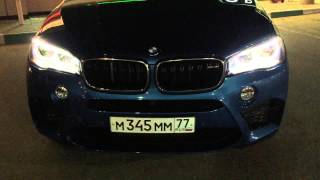 getlinkyoutube.com-Ночной Тест Драйв / Drive Test - BMW X5 M F 15 Stock H 4.1, 100-200 km/h 10.5