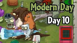 getlinkyoutube.com-Plants vs Zombies 2 - Modern Day - Day 10: Modern Future