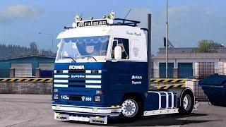getlinkyoutube.com-[ETS2 v1.22] Scania 143M Meulman *V8 Sound*
