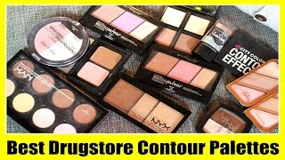 getlinkyoutube.com-Best Drugstore Contour & Highlight Palettes